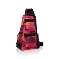 Sling-Back Bag - Ombre Stripe