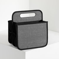 Double Duty Caddy - Charcoal Crosshatch