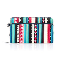 Perfect Cents Wallet - Southwest Stripe