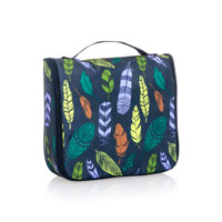Hanging Traveler Case - Falling Feathers