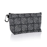Cool Clip Thermal Pouch - Chevron Squares