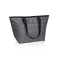 Tote-ally Thermal - Charcoal Crosshatch