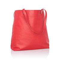 Around Town Tote - Very Cherry Pebble