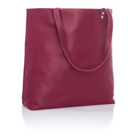 Around Town Tote - Crushed Berry Pebble