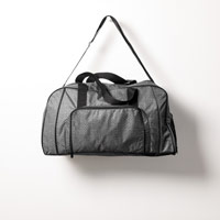 All Packed Duffle - Charcoal Crosshatch