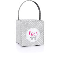 Littles Carry-All Caddy - Grey Lil' Scribble