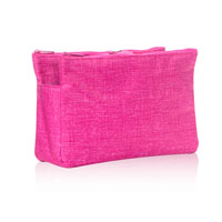 Swap-It Pocket - Pink Crosshatch