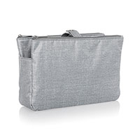 Swap-It Pocket - Light Grey Crosshatch
