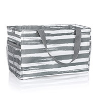 All-In Organizer - Grey Brush Strokes