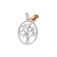 Keepsake Charm - Family Roots