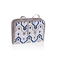 Shine On Jewelry Case - Ikat Waves