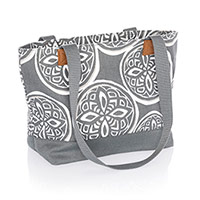 Demi Day Bag - Woodblock Whimsy