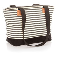 Demi Day Bag - Twill Stripe