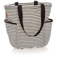 Retro Metro Bag - Twill Stripe