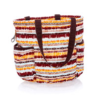 Retro Metro Bag - Tapestry Stripe