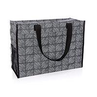 Deluxe Organizing Utility Tote - Chevron Squares