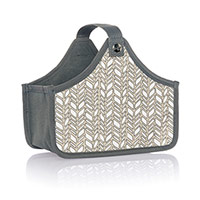 Mini Catch-All Bin - Chevron Charm