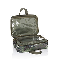 Fold-Up Travel Bag - Camo Crosshatch