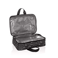 Fold-Up Travel Bag - Starlit Stripe