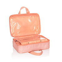 Fold-Up Travel Bag - Horizon Stripe