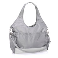 City Park Diaper Bag - Whisper Grey