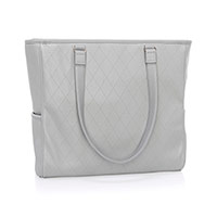 Cindy Tote Ltd. - Whisper Grey Diamond Pebble