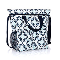 Crossbody Organizing Tote - Fab Flourish
