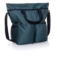 Crossbody Organizing Tote - Dot Trio