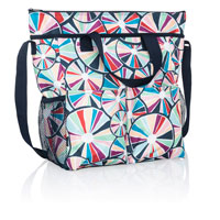 Crossbody Organizing Tote - Pinwheel Party