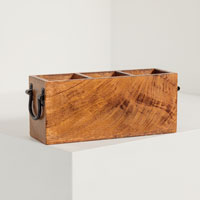 Close to Home Caddy - Natural Wood