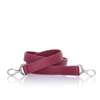 Crossbody Strap - Crushed Berry Pebble