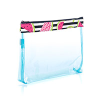 In The Clear Zipper Pouch - Slice of Summer