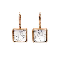 Gallery Earring - Marbled White
