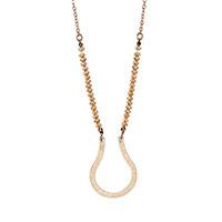 Charm Catcher Necklace - Gold Tone