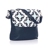 Studio Thirty-One Modern - Midnight Navy Pebble w/ Fab Flourish