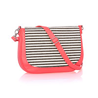 Studio Thirty-One Classic - Calypso Coral Pebble w/ Twill Stripe
