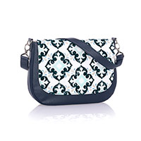 Studio Thirty-One Classic - Midnight Navy Pebble w/ Fab Flourish