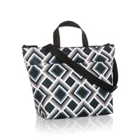 Crossbody Thermal Tote - Deco Diamond