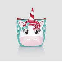 Cool Zip Snacker - Holiday Unicorn