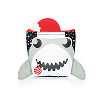 Cool Zip Snacker - Holiday Shark