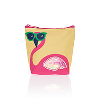 Cool Zip Snacker - Pink Flamingo