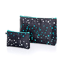 Thermal Zipper Pouch Set - Cool Confetti