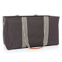Large Utility Tote Ltd. - City Charcoal