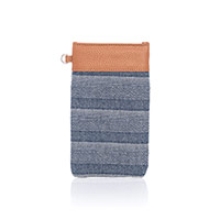 Pinch Top Eyeglass Case - Woven Stripe