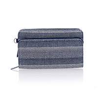Perfect Cents Wallet - Woven Stripe