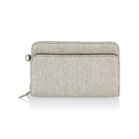 Perfect Cents Wallet - Two-Tone Weave