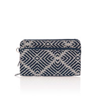 Perfect Cents Wallet - Diamond Weave