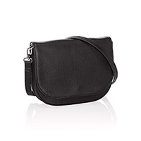 Convertible Belt Bag - Black Beauty Pebble