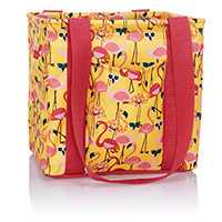 Small Utility Tote - Let's Flamingle