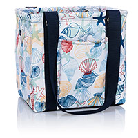 Small Utility Tote - Saltwater Shells
